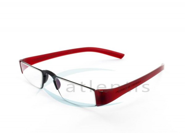 42a2f1478 Porsche Design P8801 B 48-20 black/red | Lesebrillen | Art | Brillen ...