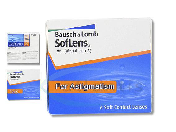 Bausch+Lomb SofLens Toric (6 Stk.)